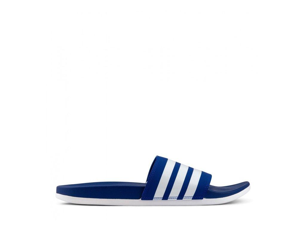 Adidas - obuv SW ADILETTE COMFORT blue/white (Velikost 11)