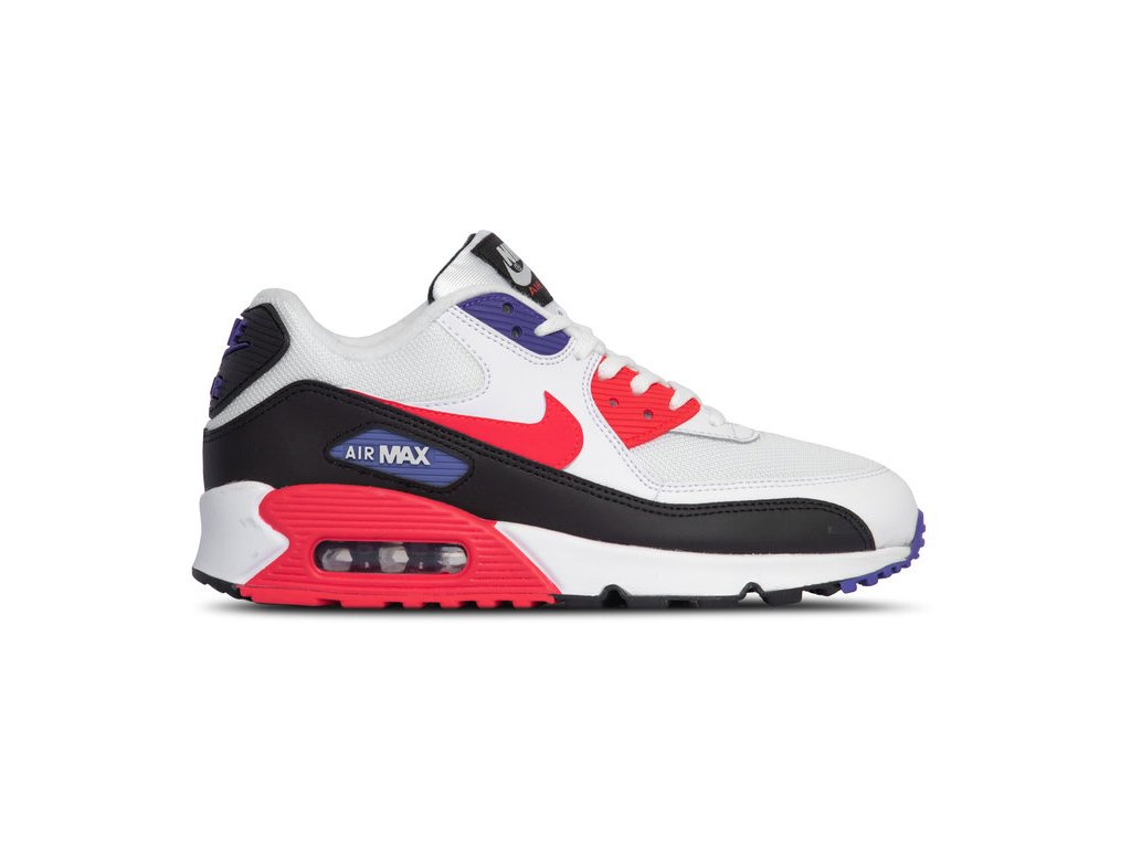nike air max 90 essential white red orbit psychic[1]