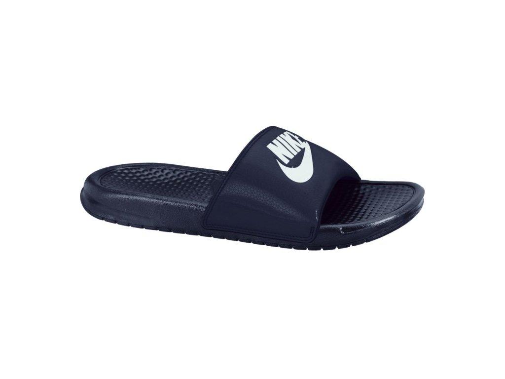 NIKE - obuv SW BENASSI JDI dark blue (Velikost 10)