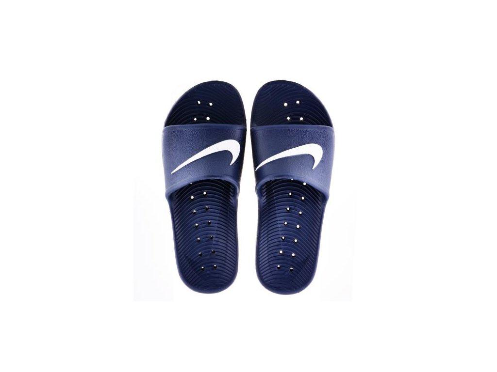NIKE - šľapky Kawa Shower Slide midnight navy (Velikost 10)