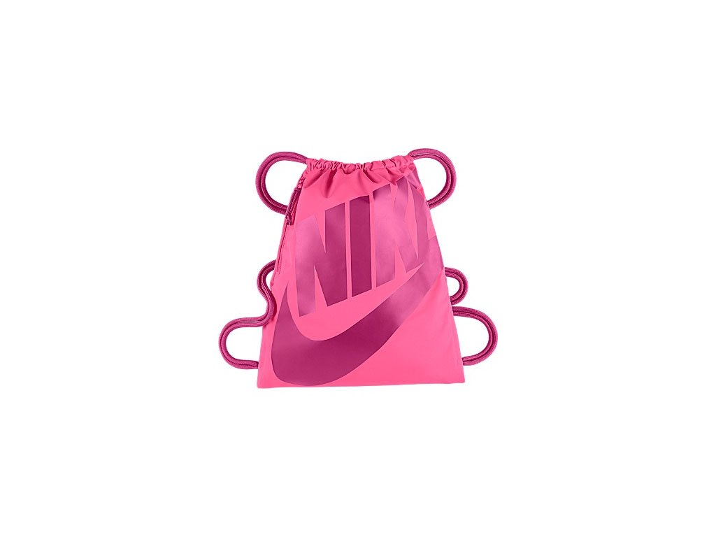 NIKE - vrecko HERITAGE GYMSACK pink (Velikost MISC)