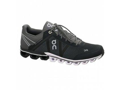 ON  - obuv RUN CLOUDFLOW black/asphalt (Velikost 40)
