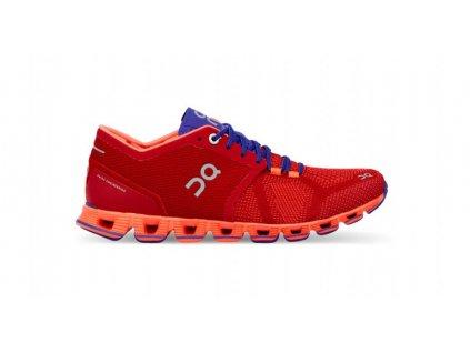 ON RUNNING - obuv RUN CLOUD X red/flash (Velikost 36)