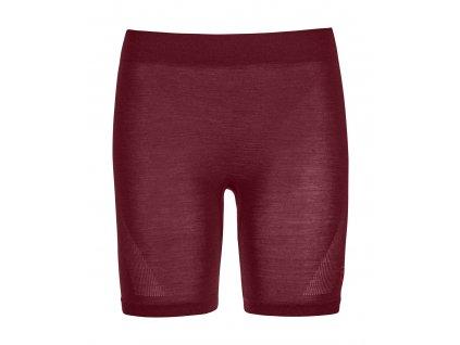Ortovox - šortky W's 120 Competition Light Short Pants dark blood