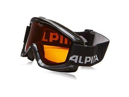ALPINA - okuliare LYŽIARSKE A Smash 2.0 black (Velikost UNI)