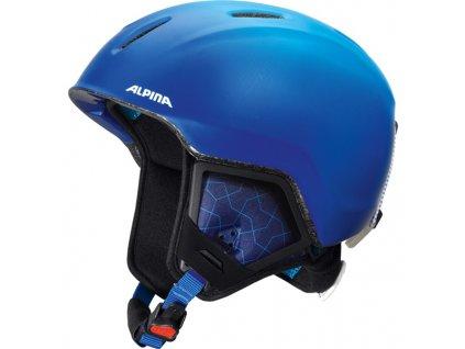 ALPINA - prilba CARAT XT  blue-gradient matt 16/17 48-52cm (Velikost 48-52)