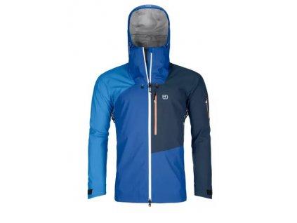 Ortovox bunda 3L Ortler Jacket just blue