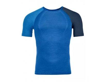 Ortovox tričko 120 Comp Light Short Sleeve M just blue