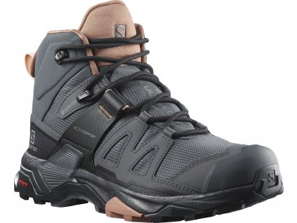 o Salomon obuv X Ultra 4 Mid GTX W ebony mocha 1