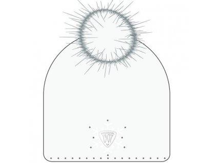 čiapka 1907 W MEG POMPOM White (Velikost TU)