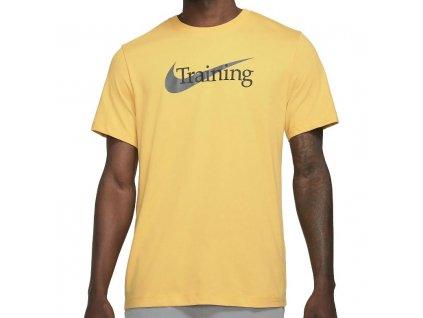 nike tričko žlte