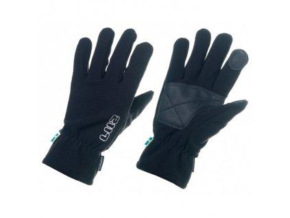 2117 OF SWEDEN - lyžiarske rukavice Borga black (Velikost 6-8)