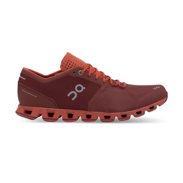 On Running obuv CLOUD X sienna/rust Velikost: 46