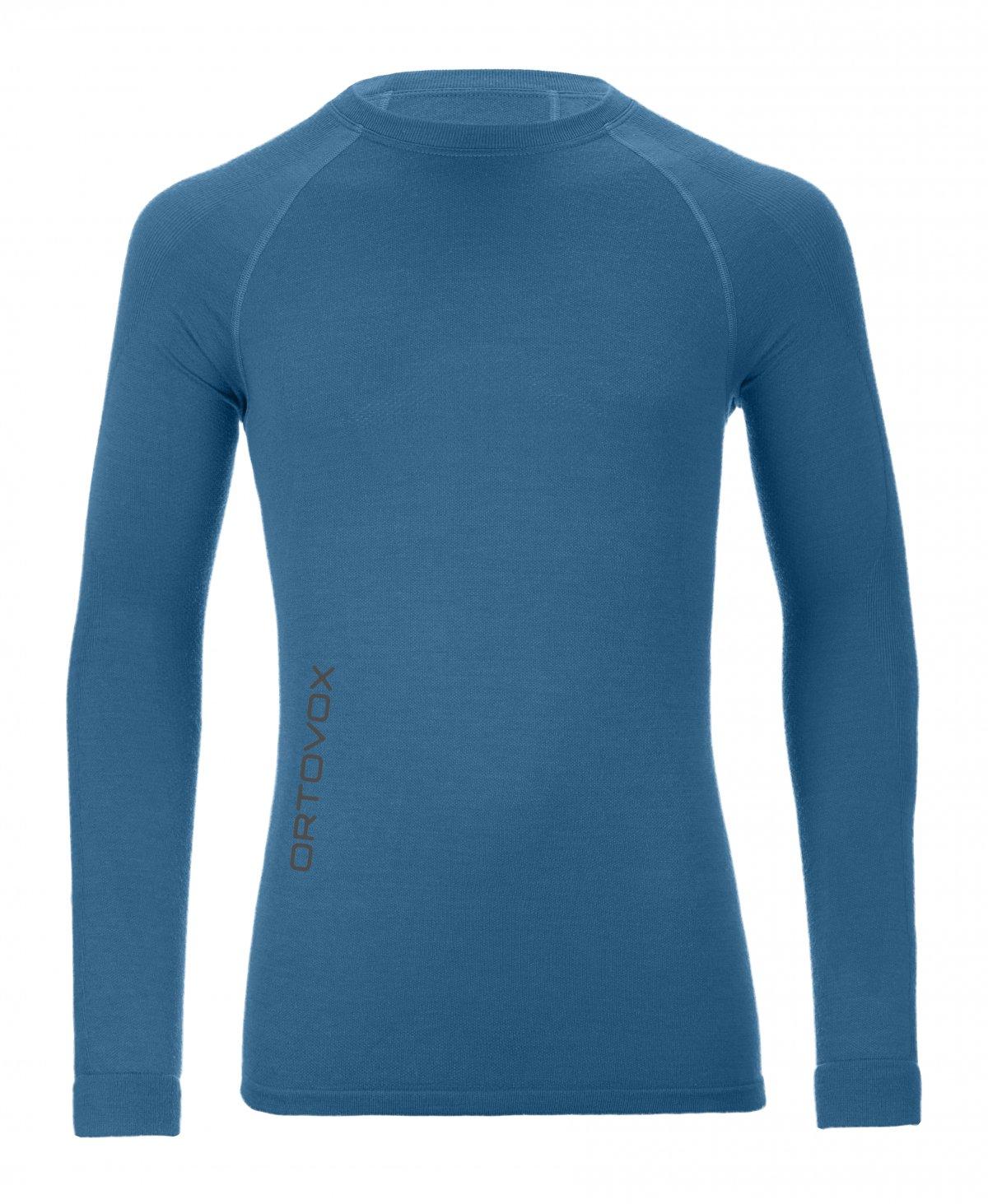 Ortovox - tričko Merino Competition Long Sleeve blue sea Velikost: XL