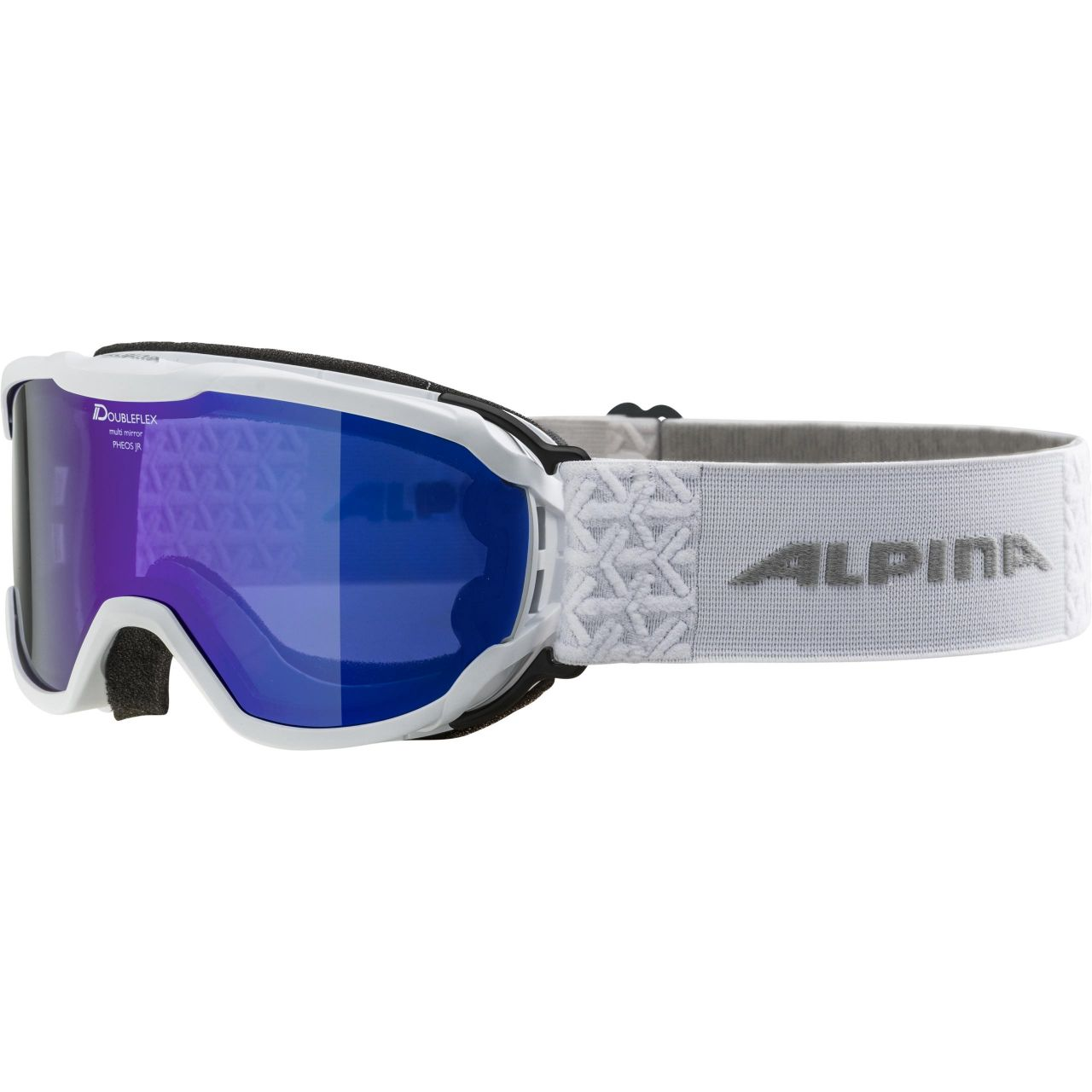 Levně Alpina brýle L A PHEOS JR 18/19 white/blue