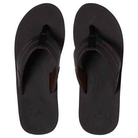 Levně Quiksilver obuv COASTAL OASIS DELUXE Black/Grey