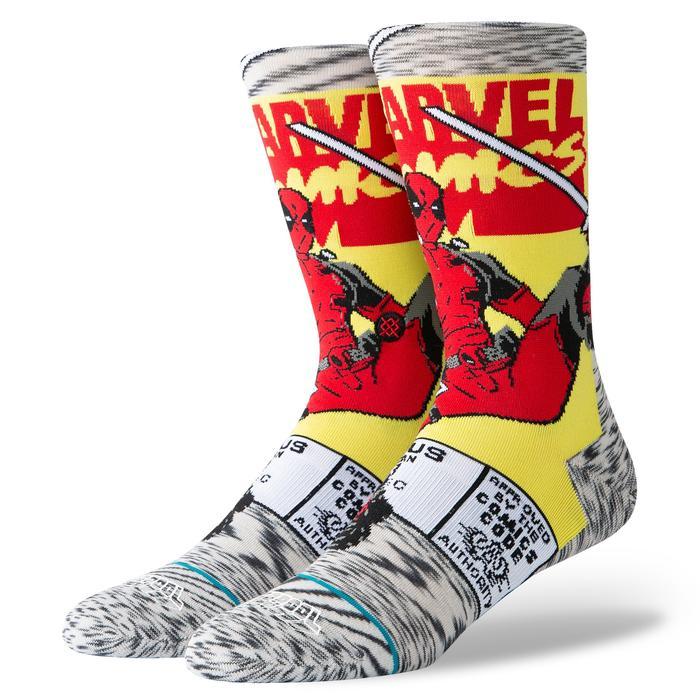 Levně Stance ponožky DEADPOOL COMIC grey