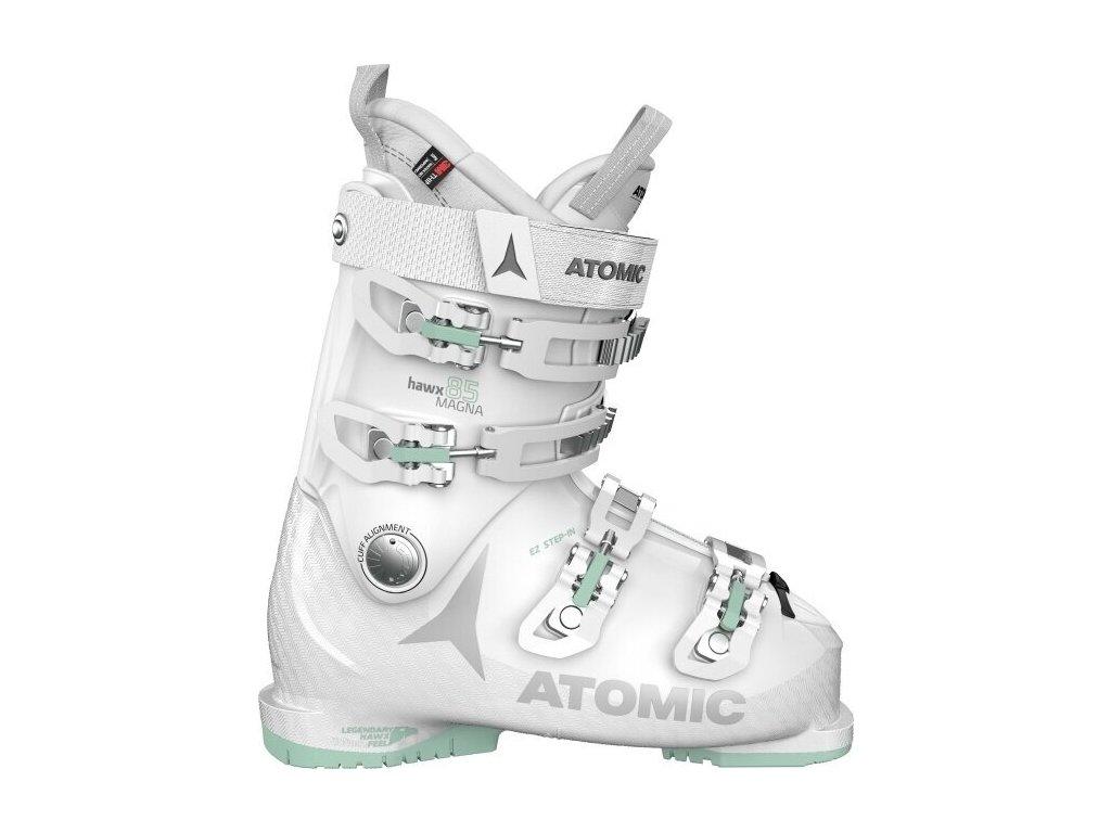 Atomic lyžařské boty Hawx Magna 85 W white/mint 20/21 Velikost: 23