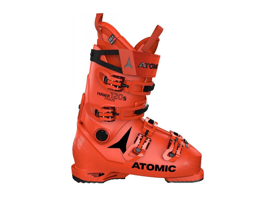 Atomic lyžařské boty Hawx Prime 120 S red/black 20/21 Velikost: 25
