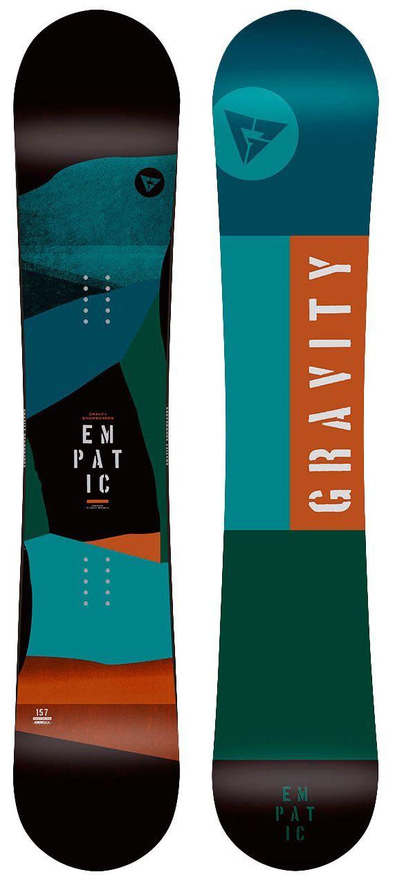 Gravity - snowboard Gravity Empatic green/blue/orange Velikost: 160