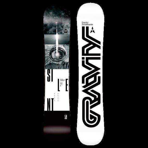 Gravity - snowboard Gravity Silent black/white Velikost: 160W