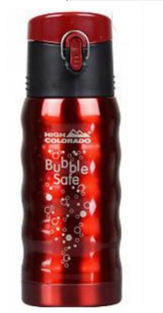 High Colorado - láhev BUBBLE SAFE red Velikost: UNI