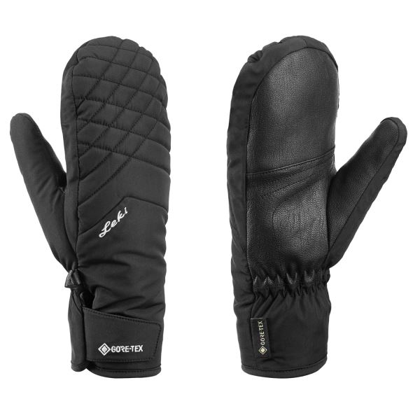 Leki - rukavice Sveia GTX Lady Mitt black Velikost: 6.5