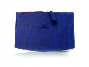 RETICULE maxi (Barva kůže pull-up bleir - šedá (+500,-), Barva podšívky světle šedá, Zip zlatá)