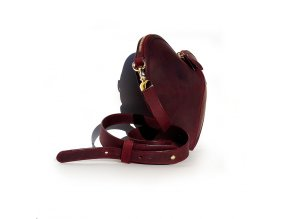 452 3 heart bag bordo