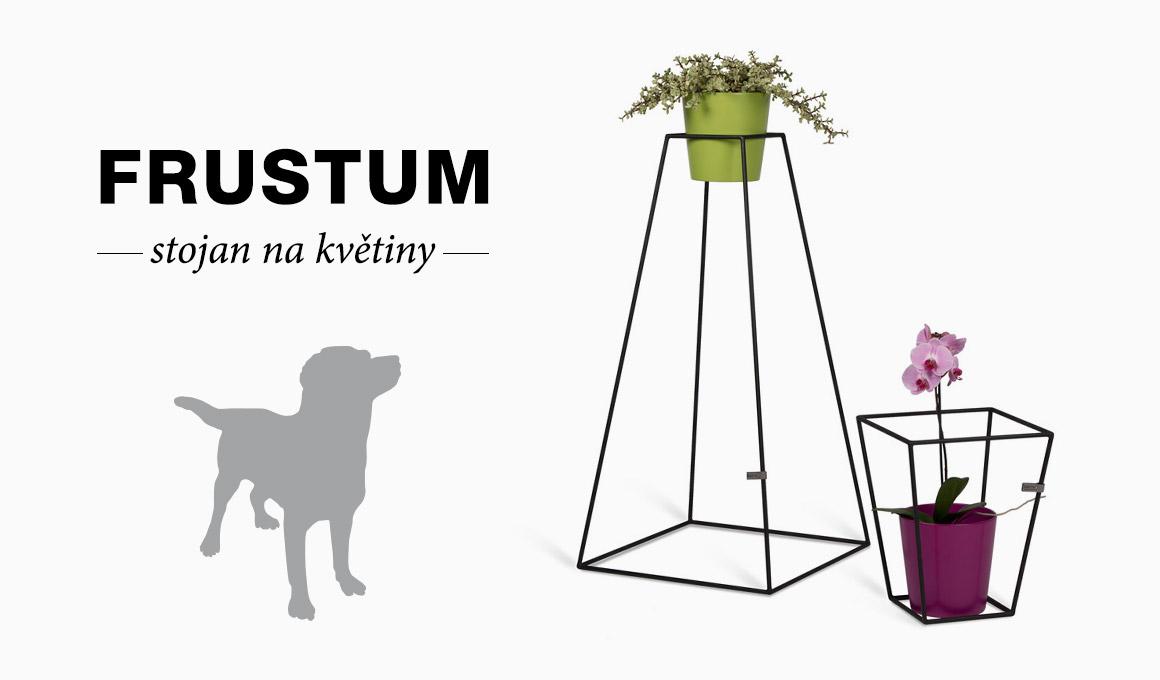 Frustum stojan na květináč