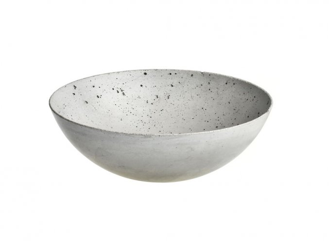 Gravelli - betonová miska 27cm gray