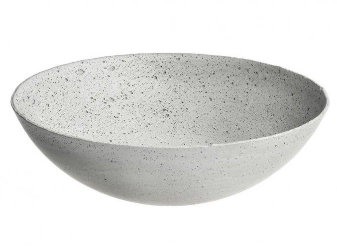 Gravelli - betonová miska 35cm gray