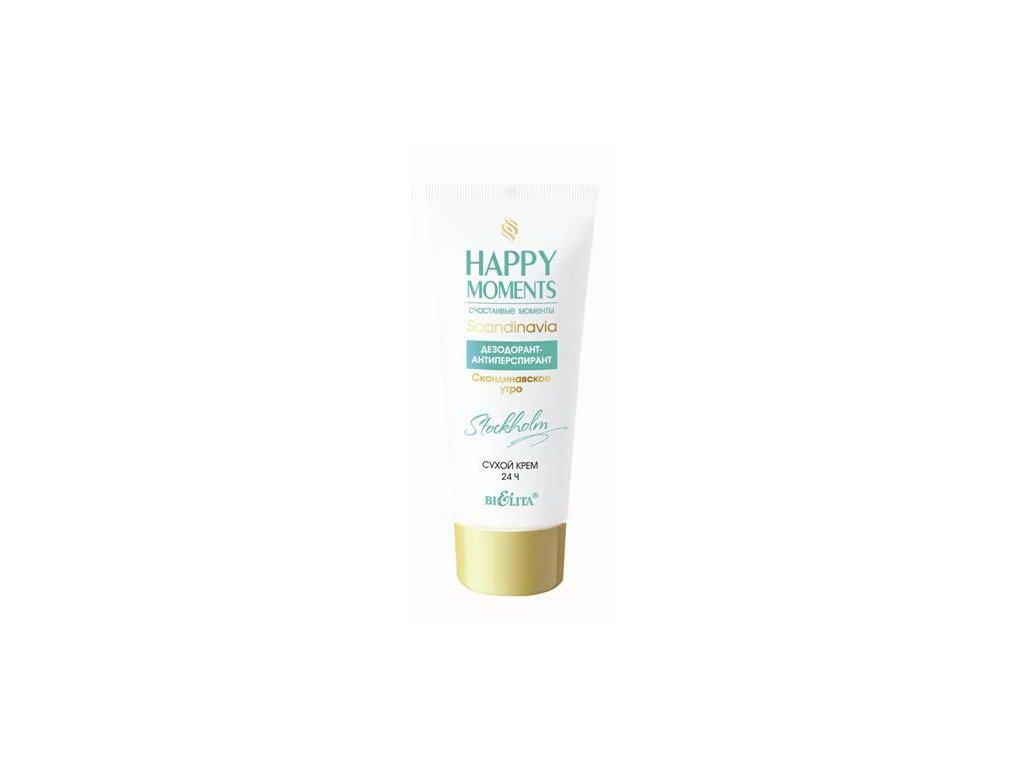 Happy Moments Dezodorant antiperspirant Suchý krém Skandinávské ráno 50 ml