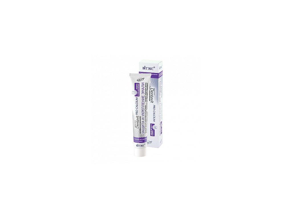 Dentavit Pro Calcium zubní pasta profesionální ochrana a posílení skloviny
