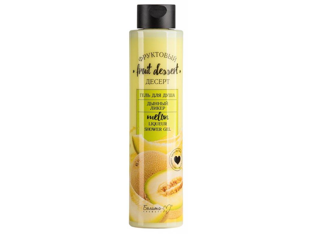 Ovocný dezert – Sprchový gel Melounový likér