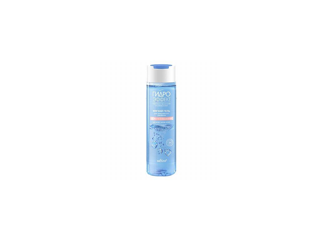 Hydroefekt – jemný gel pro každodenní mytí – Svěžest a hydratace – pro všechny typy pleti