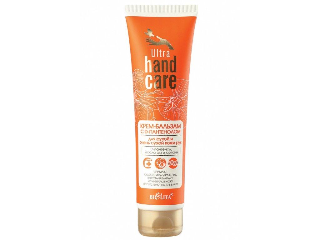 Ultra Hand Care Krémový balzám s D panthenolem pro suchou a velmi suchou pokožku