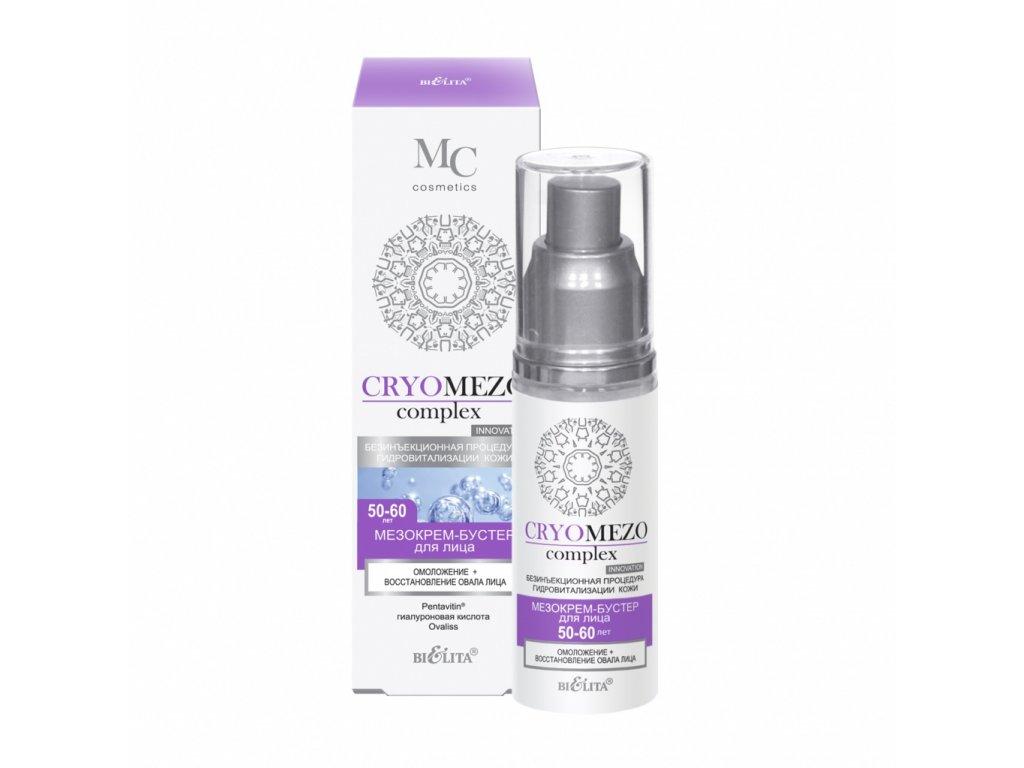 CryoMezoComplex MezoKrém Booster pro tvář – omlazení a obnova rysů obličeje