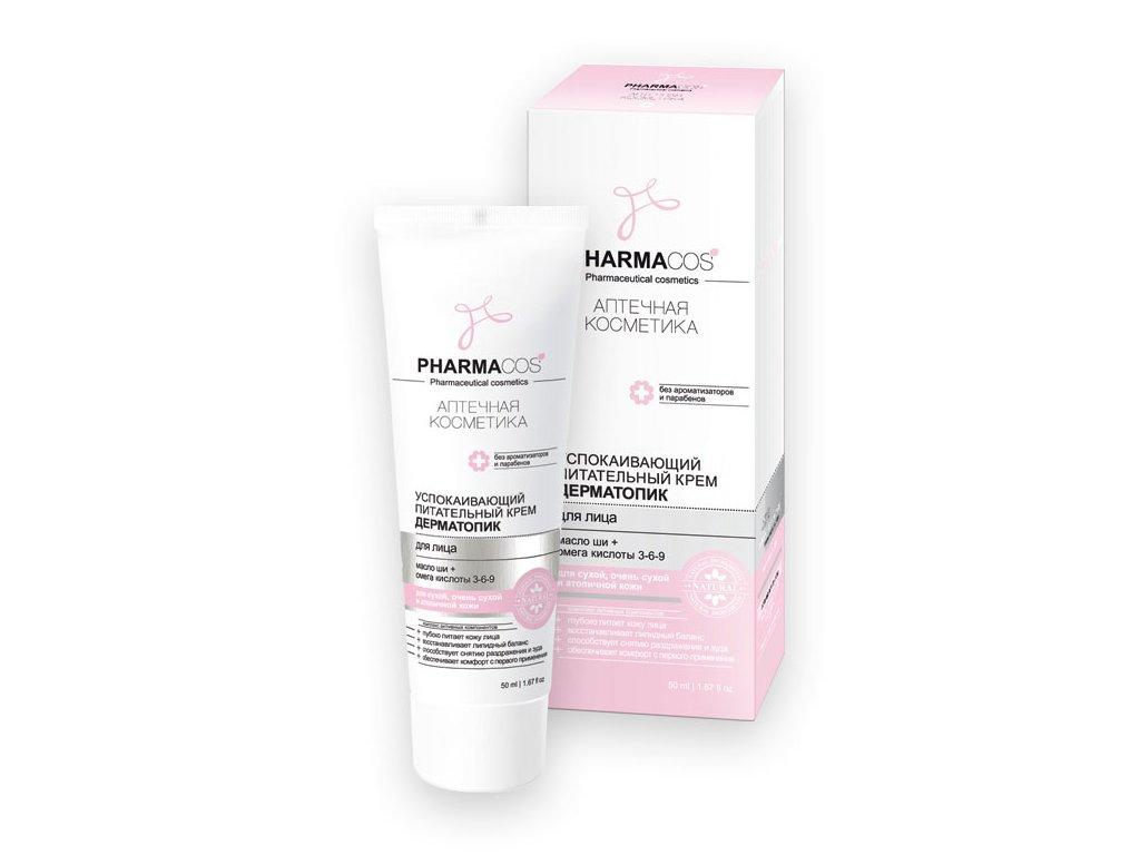 PharmaCos. Ukliďňující výživný krém pro pleť Atopik 50 ml