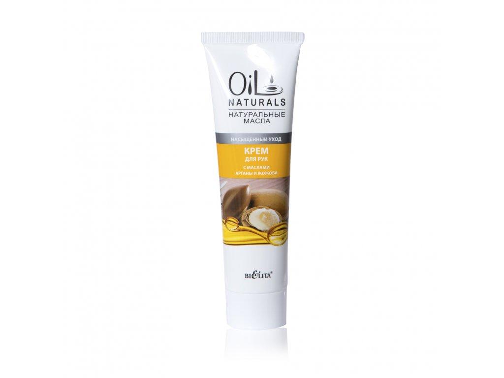 Oil Naturals – krém na ruce sarganovým a jojobovým olejem – intenzivní péče