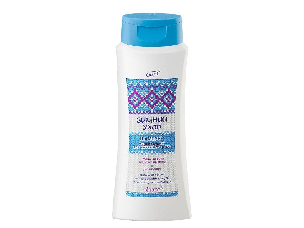 Zimní péče Šampon Zimní recept na unavené vlasy
