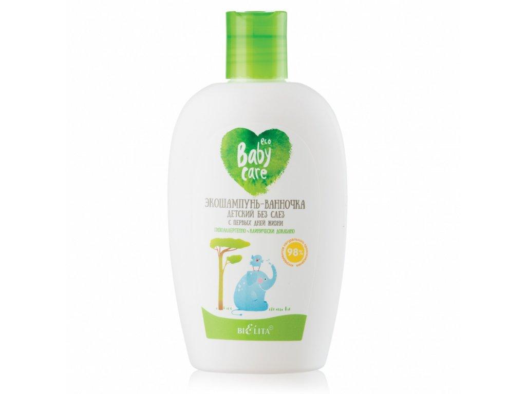 Baby Care – ECO dětský šampon na vlasy a tělo od prvních dnů života