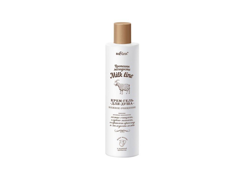 Milk line – sprchový krém gel něžné očištění