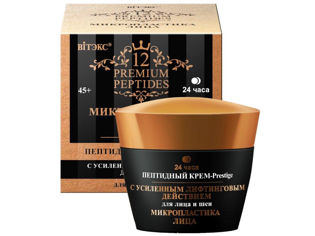 Premium Peptides – Krém Prestige s peptidy pro obličej a krk 24 hodin