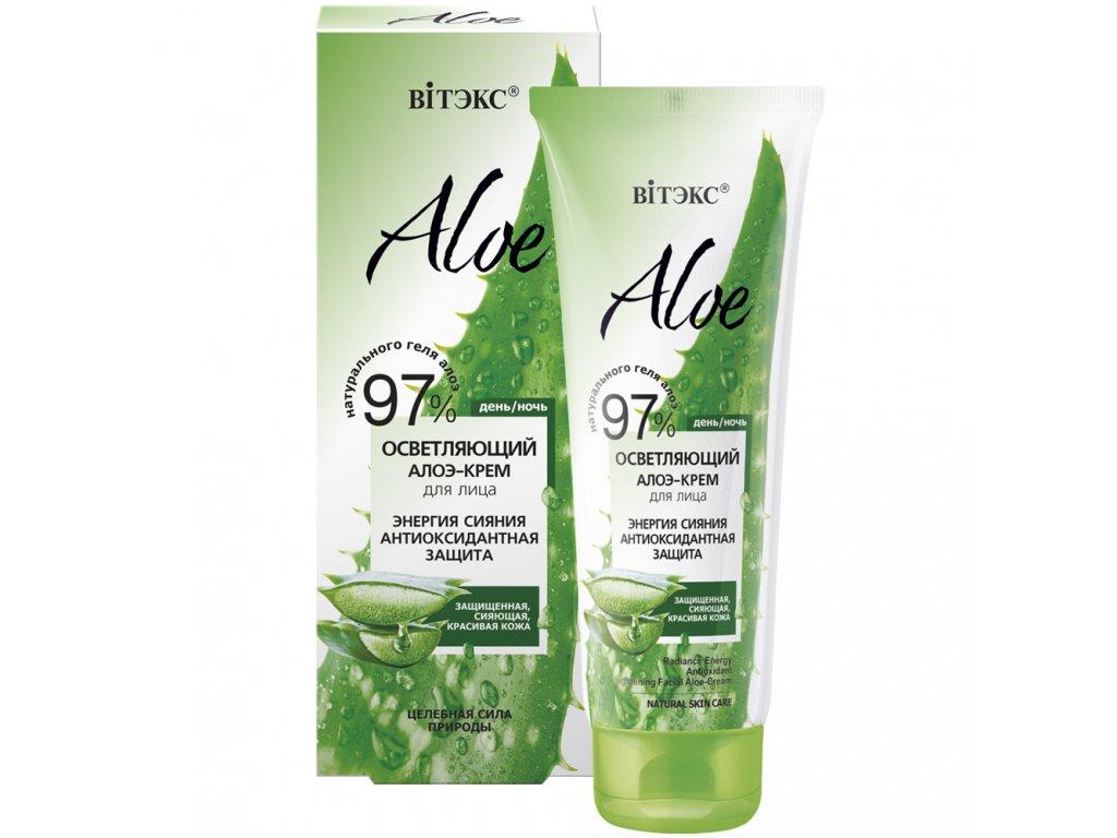 Aloe 97% Rozjasňující krém na obličej