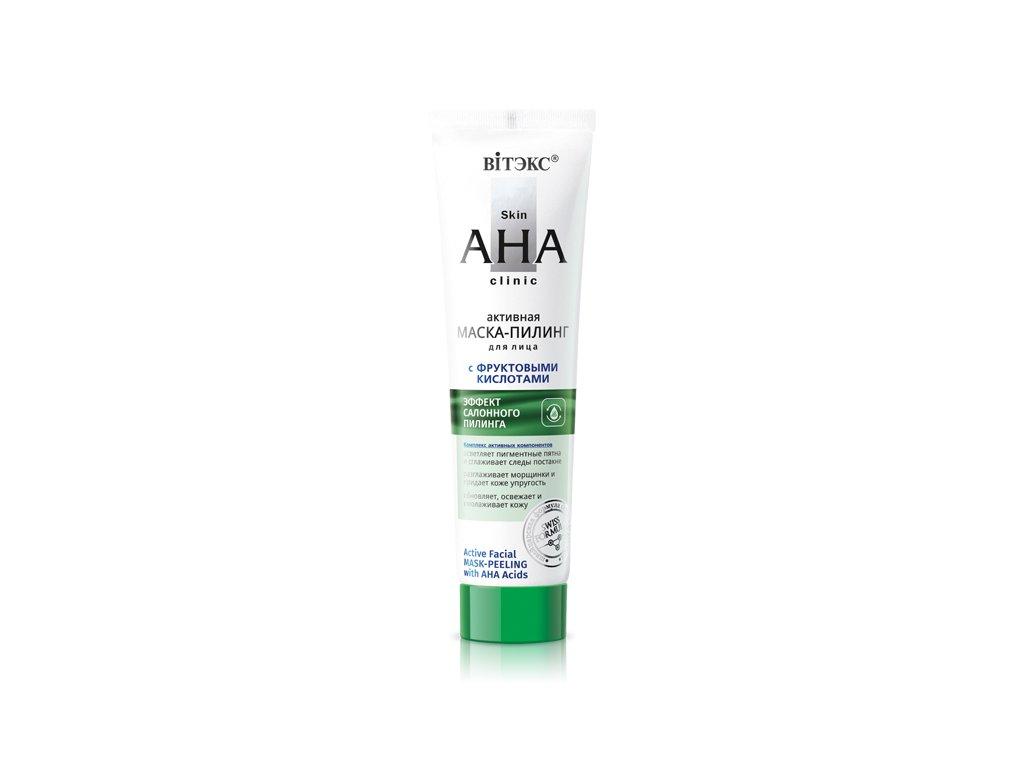 Skin AHA Clinic – Aktivní pleťová maska peeling s ovocnými kyselinami