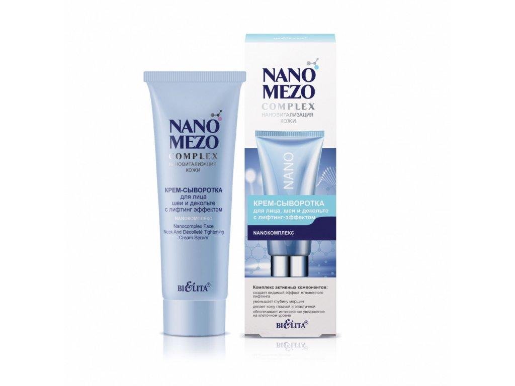NANOMEZOcomplex – Krém sérum na obličej, krk a dekolt s liftingovým efektem