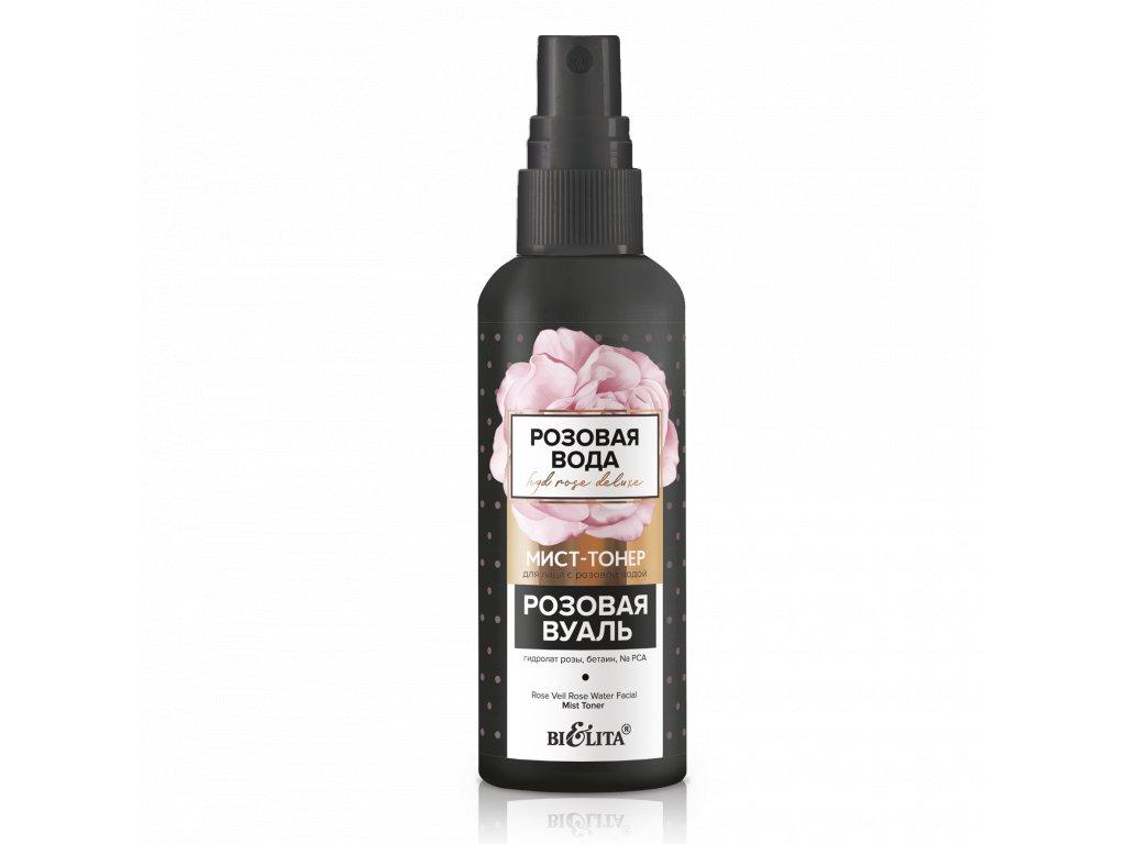 """Růžová voda – Toner na obličej s růžovou vodou """"Růžový závoj"""""""