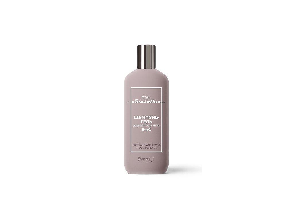 MEN SENSATION – Šampon – gel na vlasy a tělo 2 v 1