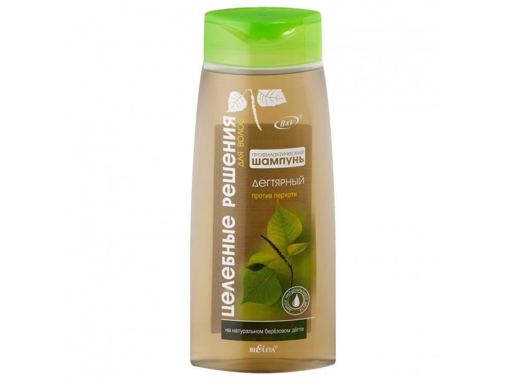 Zdravotní řešení ochranný šampon proti lupům